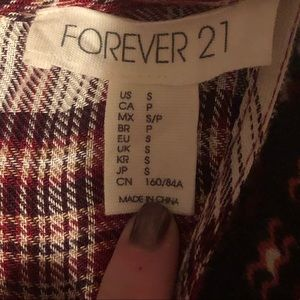 Forever 21 Dresses - Forever 21 flannel tank dress